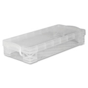 Advantus Super Stacker Stackable Pencil Box
