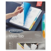 Wilson Jones View-Tab Transparent Divider - 2