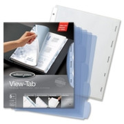 Wilson Jones View-Tab Transparent Divider - 3