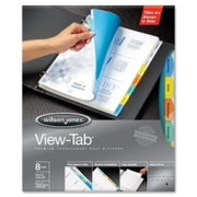 Wilson Jones View-Tab Transparent Divider - 4