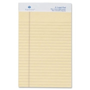 Sparco Colored Jr. Legal Ruled Writing Pads