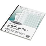 Acco Side-Bound Punched Columnar Pads - 1
