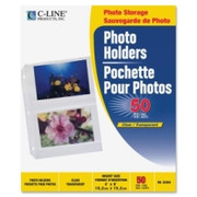 C-line 3-Hole Polypropylene Photo Protector