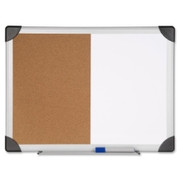 Lorell Dry Erase/Cork Board Combination - 1