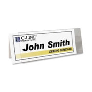 C-line Rigid Name Tent Holder