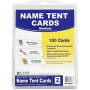 C-line Tent Card - 1