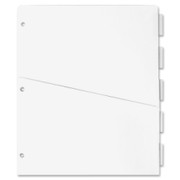 Sparco Ring Binder Pocket Tab Divider - 1