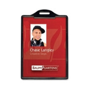 Baumgartens Vertical ID Card Holder - 1