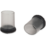 Lorell Clear Sleeve Floor Savers - 1