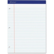 Ampad Perforated 3HP Ruled Double Sheet Pads - 2