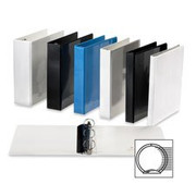 Sparco Premium Round Ring View Binder - 4