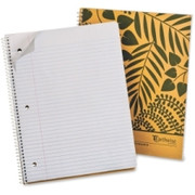 Ampad Earthwise Recycled 3HP Notebook - 2