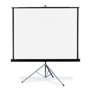 "Quartet Manual Projection Screen - 99"" - 1:1 - Portable"