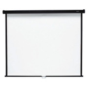 "Quartet Manual Projection Screen - 99"" - 1:1 - Wall Mount, Ceiling Mount"