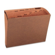Sparco Heavy-Duty Accordion Files without Flap - 2