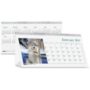 House of Doolittle Puppies Desktop Tent Calendar