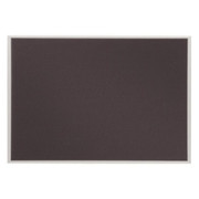 Quartet Matrix Gray Bulletin Board