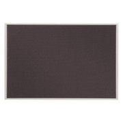 Quartet Matrix Gray Bulletin Board - 1
