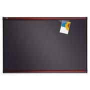 Quartet Prestige Plus Heirloom Gray Diamond Mesh Bulletin Board