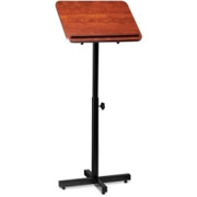 Lorell Tilt Platform Adjustable Floor Lectern - 1