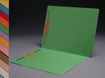 End Tab Colored File Folder - Green - 1
