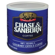 Chase and Sanborn Arabica Ground Coffee in 34.5 oz. Can Ground