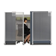 Quartet Workstation Privacy Screen