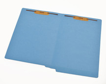 End Tab Colored File Folder - Blue - 2