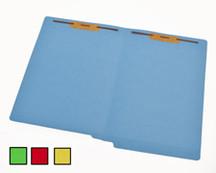 End Tab Colored File Folder - Green - 2