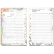 Franklin Covey Blooms Garden Design Classic Planner Refill