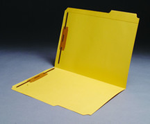 Top Tab Colored File Folder - Yellow