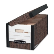 Bankers Box Systematic - Letter, Woodgrain - TAA Compliant