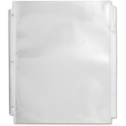 Sparco Top Loading Sheet Protectors with Index Tab