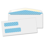 Quality Park Double Window Envelope