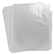 Sparco Top Loading Sheet Protectors with Index Tab - 1