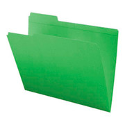 Top Tab Colored File Folder - Green - 2