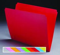 Top Tab Colored File Folder - Gray - 3