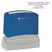 Sparco Business Address Stamp