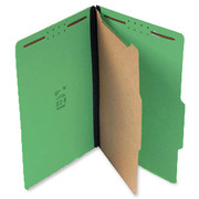 Top Tab Pressboard Classification Folder - Emerald Green - 1