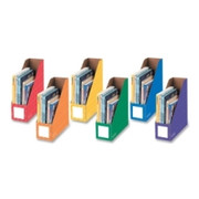 "Bankers Box 4"" Magazine File Holders - Assorted"
