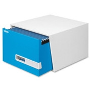 "Bankers Box Stor/Drawer Premier - 18"" Legal, Blue"