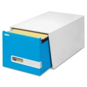 "Bankers Box Stor/Drawer Premier - 24"" Letter, Blue"