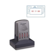 Xstamper VersaDater Pre-Inked Stamp - 4