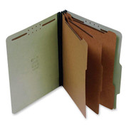 Top Tab Pressboard Classification Folder - Green