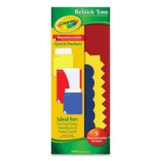Crayola Restick'Ems Repositionable Quick Pockets