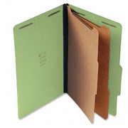 Top Tab Pressboard Classification Folder - Green - 1