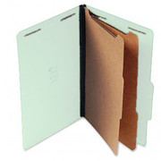 Top Tab Pressboard Classification Folder - Pale Green - 2