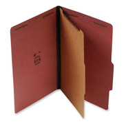 Top Tab Pressboard Classification Folder - Red - 1