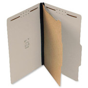 Top Tab Pressboard Classification Folder - Gray - 1