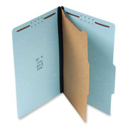 Top Tab Pressboard Classification Folder - Blue - 1